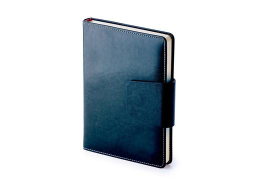 Ежедневник недатированный Prestige А5, темно-синий фото
