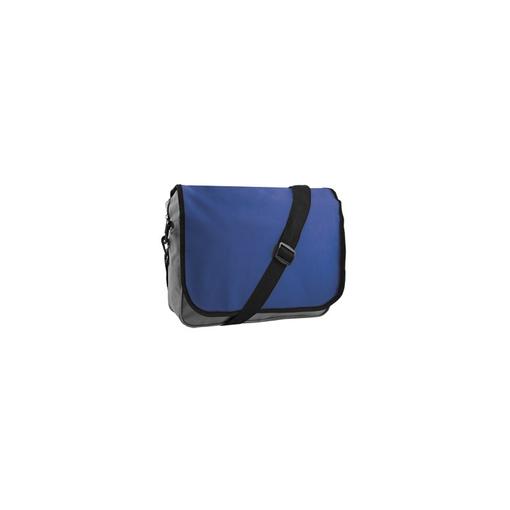 Конференц-сумка College, серый, синий фото