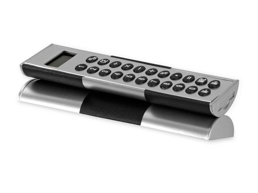 Калькулятор Октант, черный, серый фото