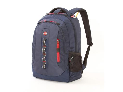 Рюкзак с отделением для ноутбука 15, синий фото