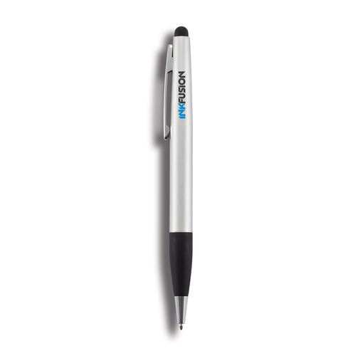 Ручка-стилус 2 в 1 , серебряный фото