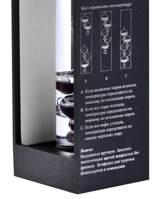 Термометр Галилео Галилей фото