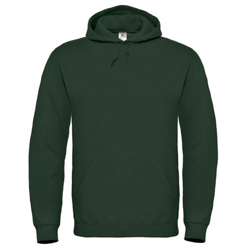 Толстовка с капюшоном ID.003, лесная зелень, размер M фото