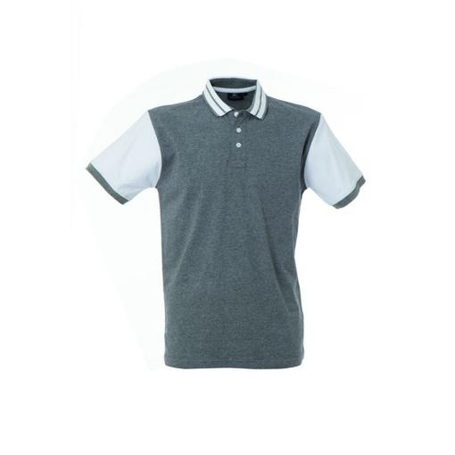 Рубашка поло WASHINGTON, размер L, серый меланж фото