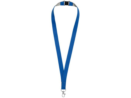 Шнурок Aru, серебряный/серый, синий фото