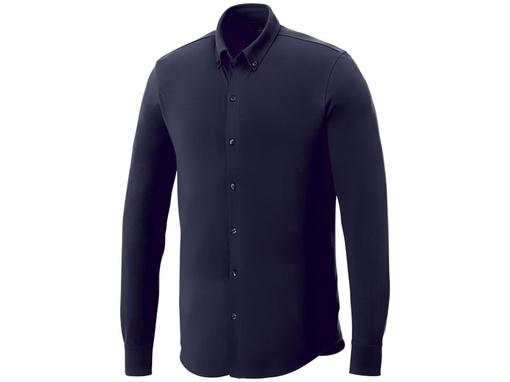 Рубашка Bigelow мужская с длинным рукавом, темно-синяя фото