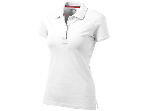 Рубашка поло Advantage женская, белый фото