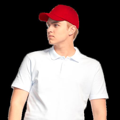 Бейсболка StanLine, красный фото