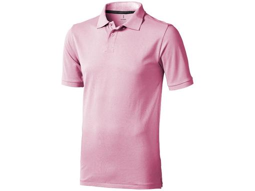 Рубашка поло Calgary мужская, розовый фото