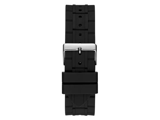 Часы наручные Guess, мужские, d44, черный/серебряный фото