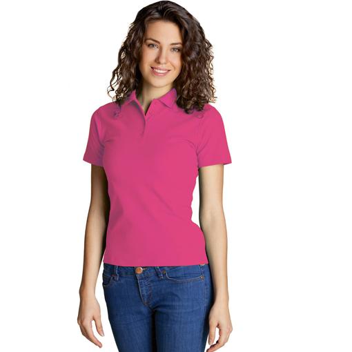 Рубашка поло StanWomen женская, темно-розовый фото