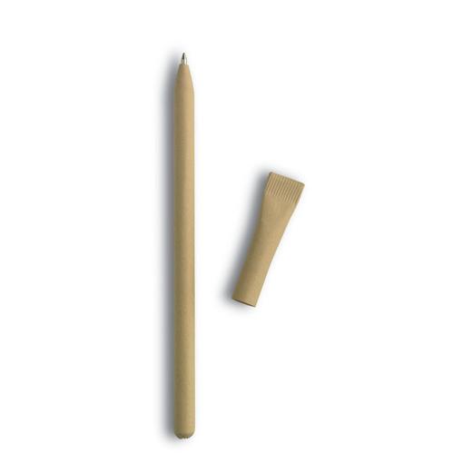 Ручка шариковая ЭКО, коричневый фото