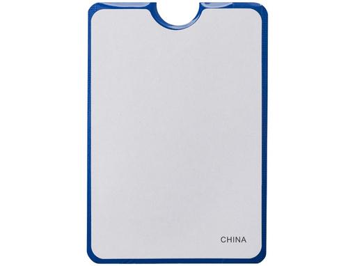 Бумажник для карт с RFID, синий фото