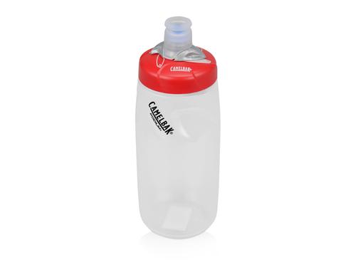 Бутылка спортивная CamelBak Custom Print Podium 610мл, белый/красный фото
