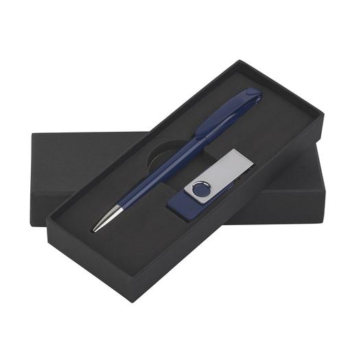 Набор ручка + флеш-карта 16Гб в футляре фото