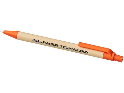 Ручка шариковая Berk, оранжевая фото
