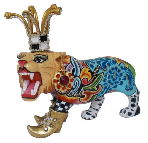 Скульптура Тигр фото