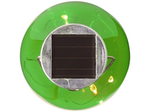 Солнечный диодный фонарь Surya, зеленый фото