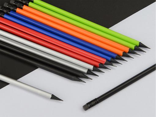 Карандаш трехгранный Blackie 3D, оранжевый фото