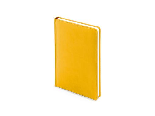 Ежедневник недатированный Velvet А5+, желтый фото