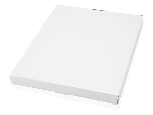 Папка для документов на молнии с блокнотом и калькулятором Gabin А4, черная/ синяя фото