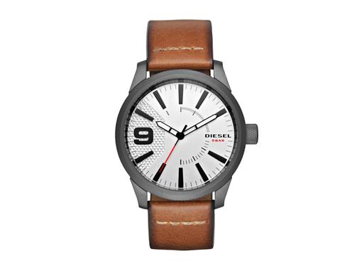 Часы наручные, мужские, серый, коричневый фото