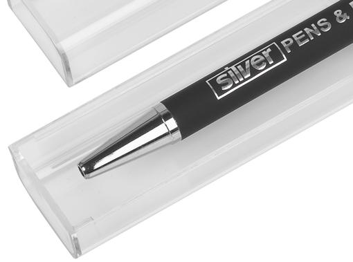 Набор ручка + флеш-карта 16 Гб в футляре, покрытие soft touch фото