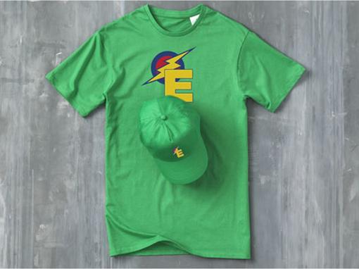 Бейсболка Feniks, зеленая фото