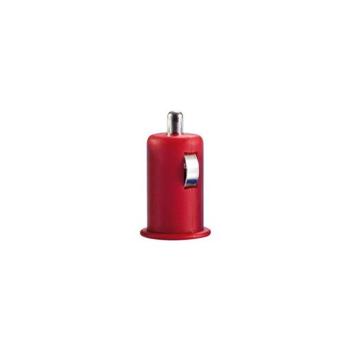 Автомобильное зарядное устройство, красный фото