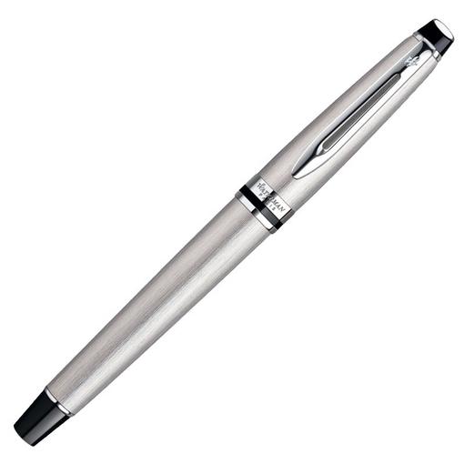 Ручка перьевая Expert Stainless Steel CT F, хром фото