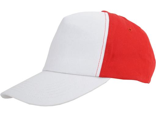 Бейсболка US Basic Arizona 5 клиньев, красный фото
