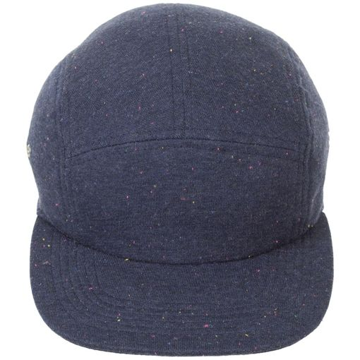 Бейсболка BALDWIN прямой козырек, синий меланж фото