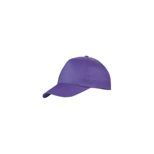 Бейсболка Memphis 5 клиньев, светло фиолетовый фото