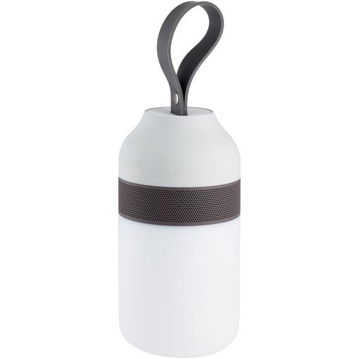 Беспроводная колонка Eldflugg со светильником, серый фото