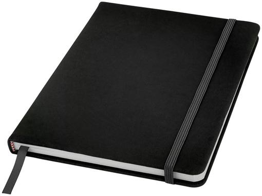 Блокнот на резинке Spectrum А5, 96 листов, черный фото