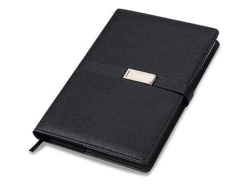 Блокнот USB Journal А5, 80 листов, черный фото