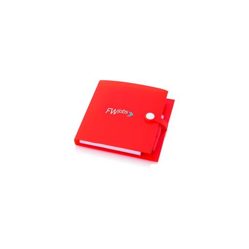 Блокнот с авторучкой и стикерами Cray, 70 листов, оранжевый фото