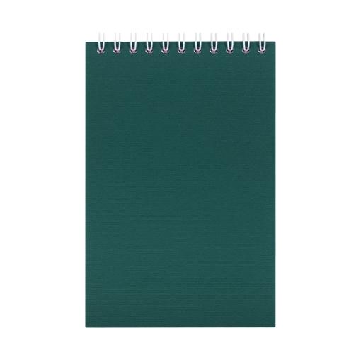 Блокнот Nettuno mini в клетку, зеленый фото