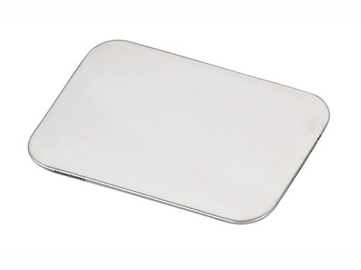 Блокнот на резинке Silver Rim А5, 96 листов, черный фото