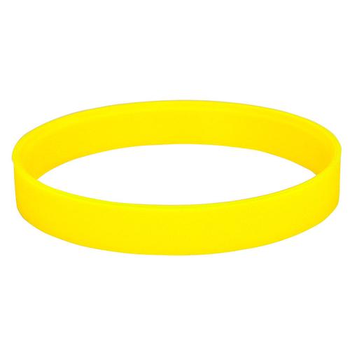Браслет силиконовый Фантазия-2, желтый фото