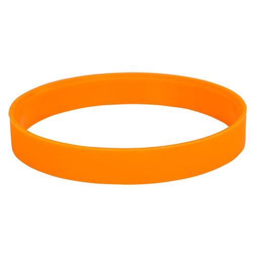 Браслет силиконовый Фантазия-2, оранжевый фото
