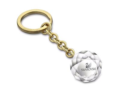 Брелок в виде мяча Swarovski Ball, средний, серебряный фото