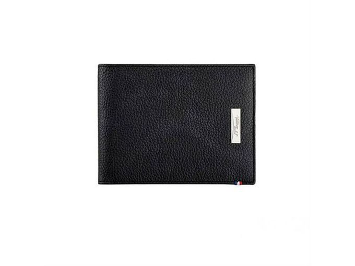 Бумажник S.T. Dupont Soft Diamond Graine 110 х 87, черный фото