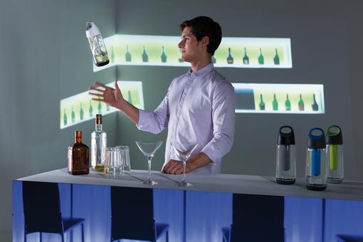 Бутылка для воды XD Design Bopp Cool 700мл, серый фото