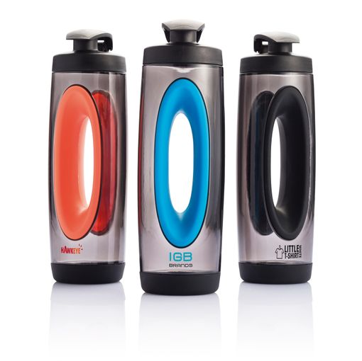 Бутылка спортивная XD Design Bopp Sport 550мл, серый/оранжевый фото