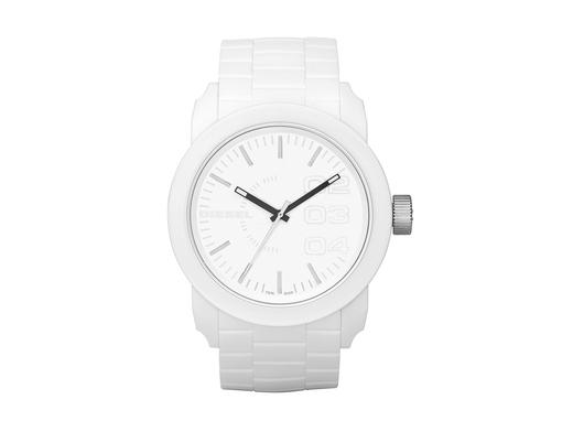 Часы наручные, унисекс, белый фото
