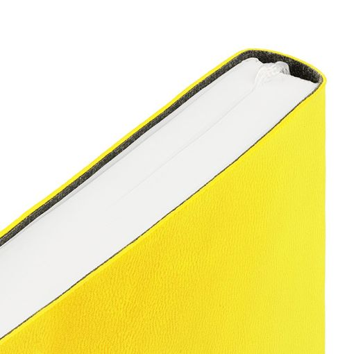 Ежедневник Flex New Brand, недатированный, желтый фото