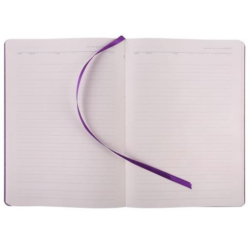 Ежедневник Melange, недатированный, фиолетовый фото