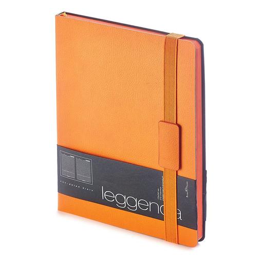 Ежедневник недатированный Leggenda, оранжевый фото