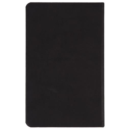 Ежедневник «Понедельник», недатированный, черный с рисунком фото